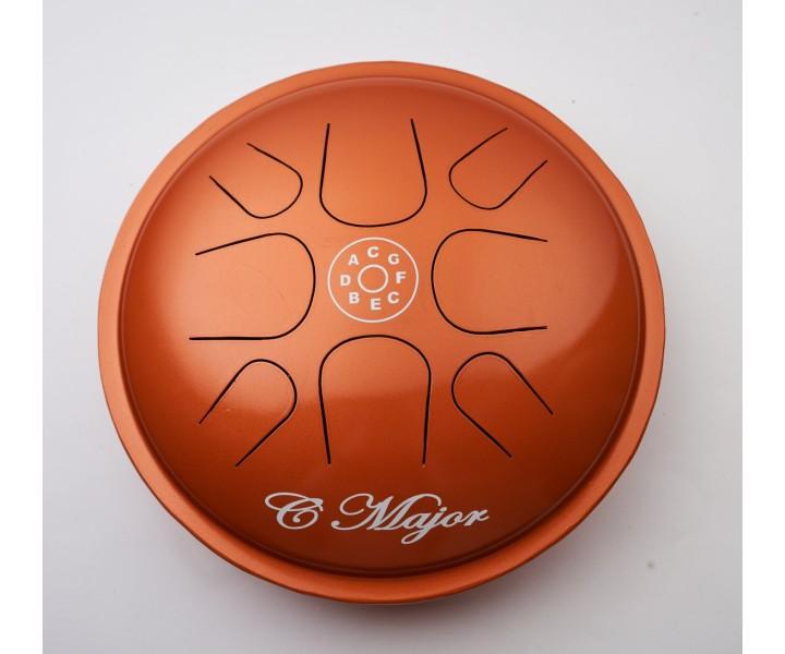 Happy drum Ufo oranžový F-dur