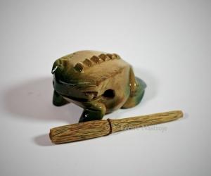 Hudební žabička malá zelená