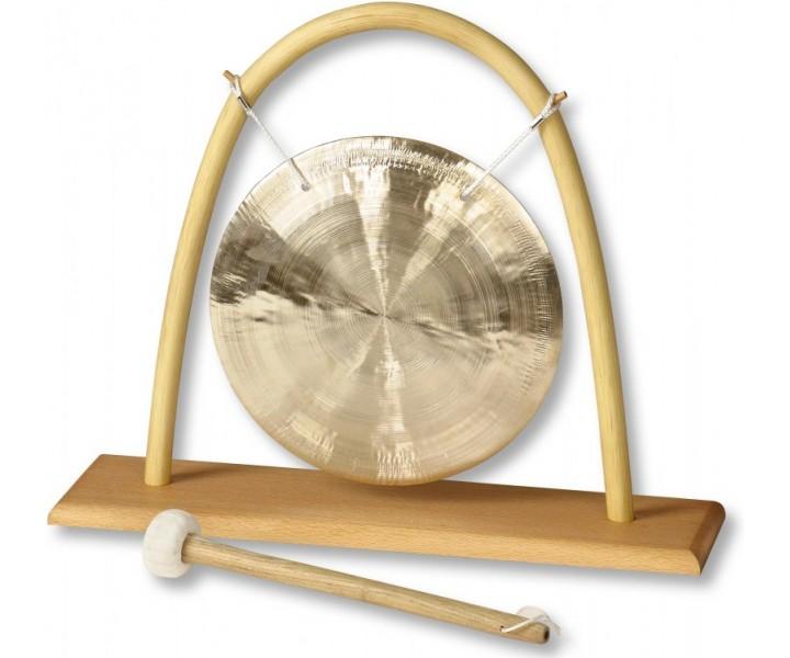 Malý Feng gong se stojanem z ratanu