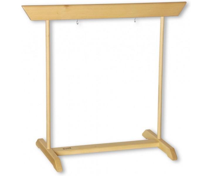 Bukový stojan pro Feng gong