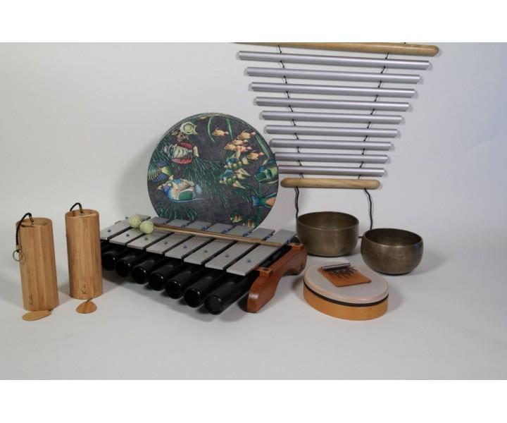 Meditační sestava střední