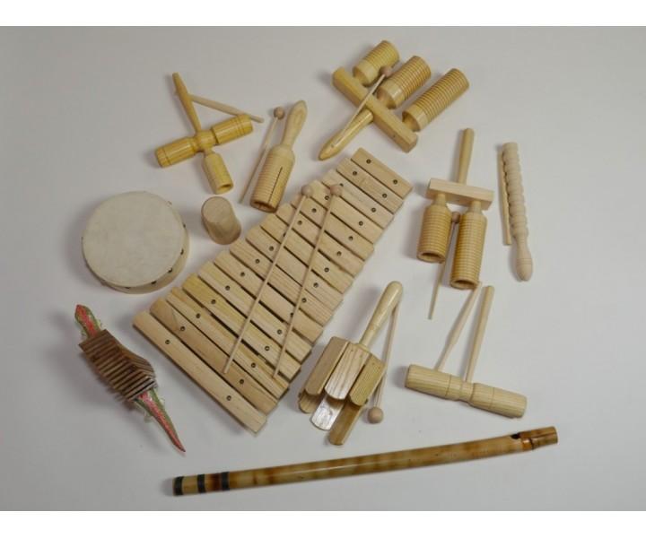 Dřevěná sestava