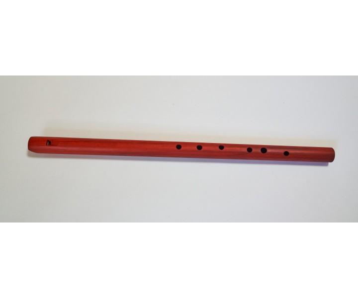Meditační flétna F z červeného dřeva