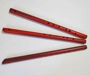 Meditační flétna Cis z červeného dřeva
