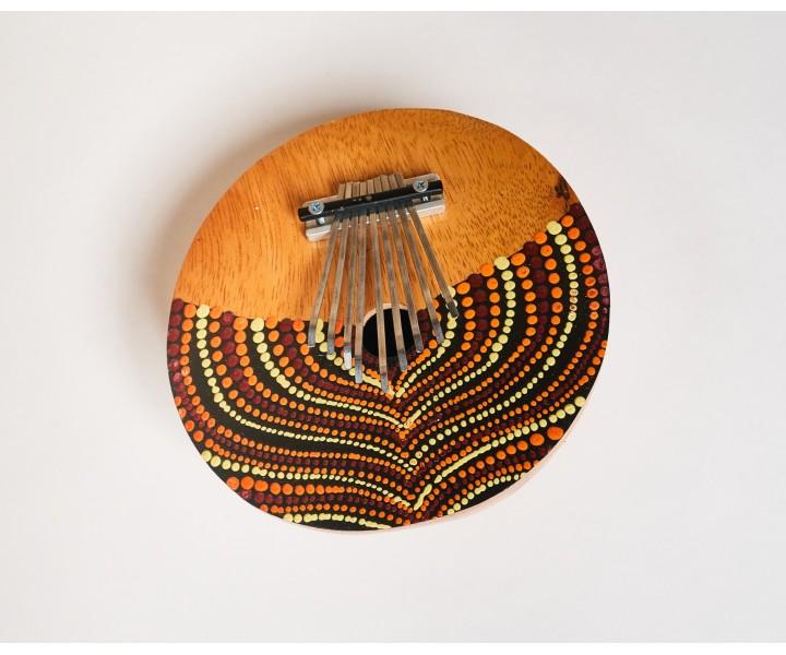 Kalimba z kokosu střední