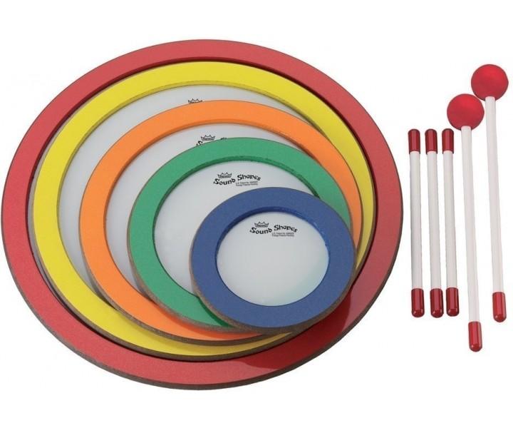 Remo zvukové tvary - 5 kruhů