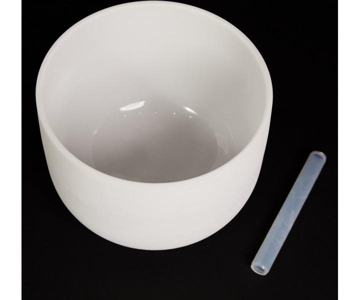 Bílá křišťálová mísa 32 cm