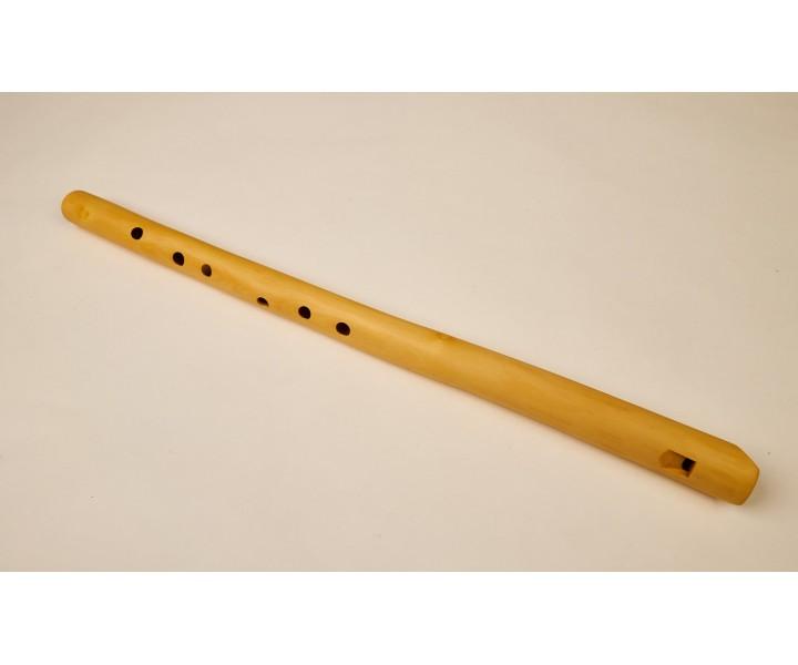 Meditační flétna C z bezového dřeva