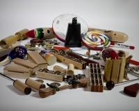 Moderní perkuse a chřestítka