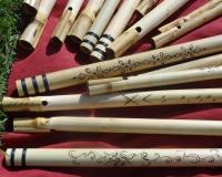 Indické bambusové koncovky