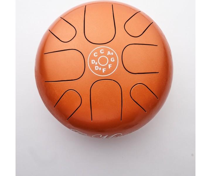 Happy drum malý oranžový D-moll