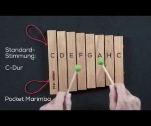 marimba skládací