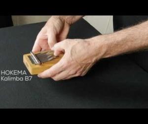 Video ukázka kalimba B7 B7