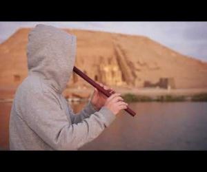Východ slunce na Nilu