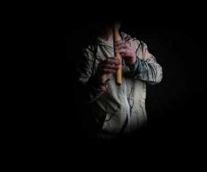 Meditační flétna bezová F
