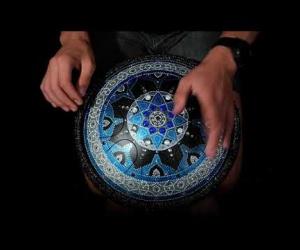 Guru modrá mandala