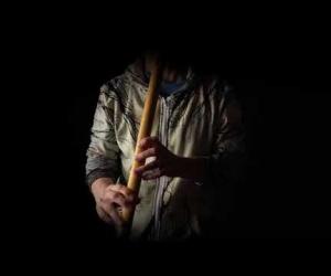 Meditační flétna C bezová