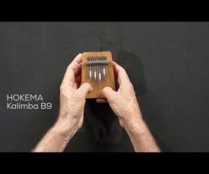 Video ukázka kalimba B9