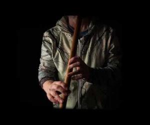 Meditační flétna Cis teak